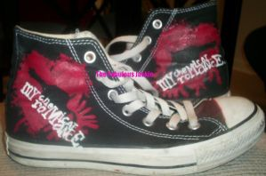 My Chemical Romance Shoes by JackieInPink