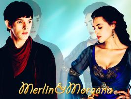 Merlin and Morgana 3 by OrlaDark