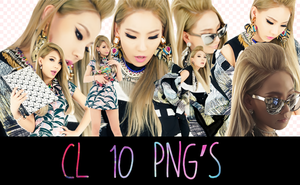 CL 10  PNG's By:Milevip by Milevip