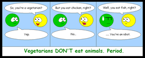 Vegetarians for dummies by 0Ash0