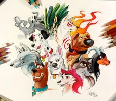 133- My Favorite Canines by Lucky978