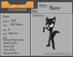 SLC Profile:  Razor Wolf by Furyshield