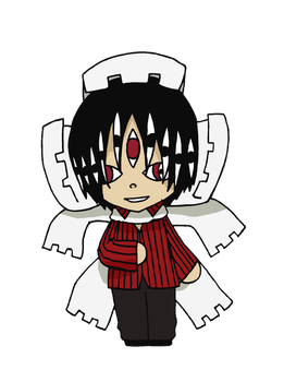 Soul Eater - Asura Chibi by CandyAddict774