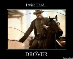 Hugh Jackman as Drover by CABARETdelDIAVOLO