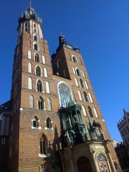 Mariacki Church Cracow by Darsse