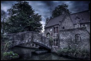 Dark side of Bruges IV by zardo