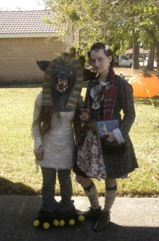 Oufit for Oni-Con 2010 by louis-etoile