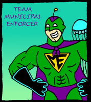 Team Municipal Enforcer by Rennon-the-Shaved
