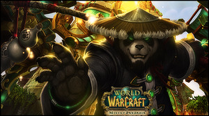 Wow Mists Of Pandaria by StormShadownGFX