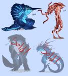 Sea monster Adopts by Surk3