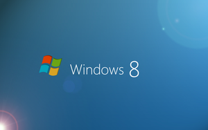 Windows 8 with Lens flare by cyogesh56