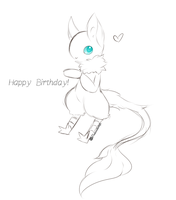 Happy Birthday Reixxie by Ambercatlucky2