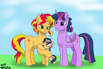 AT: The Shine family by FallenAngel5414