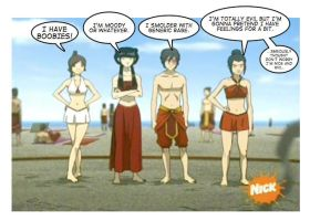 Avatar Comic Life by jamesohgoodie