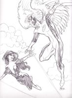 09252013 Angel and Aurora by guinnessyde