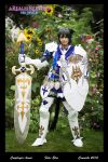 Final Fantasy 14 FFXIV - Miqote Paladin Cosplay by hwaiting