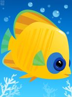 Tropical Fish 01 by placitte2012