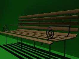 Bench by kamzar