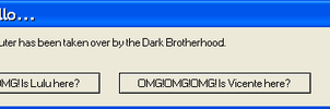 Dark Brotherhood Error Message by Leonette15