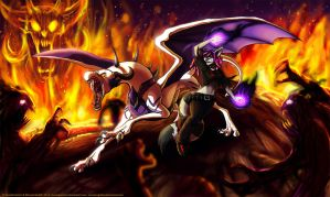 Fight In Hell by MustaPantteri