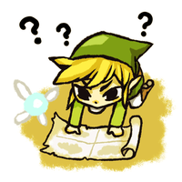 Link and his map by Darasaurus