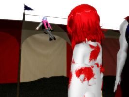 The clown reappears by Malefor666