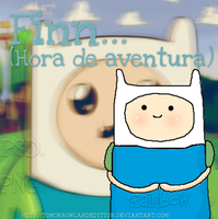 Finn PSD. y PNG. by TomorrowLandEdition