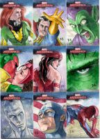 MM 1 Sketch Cards by jeh-artist