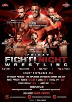 NWA Fight Nation Friday Fight Night official Flyer by Mohamed-Fahmy