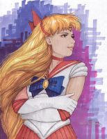 Sailor Venus by AlanGutierrezArt