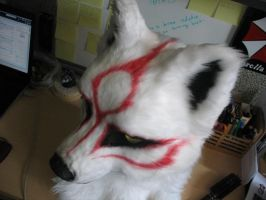 Okami-New Ammy head by Hyokenseisou-Cosplay