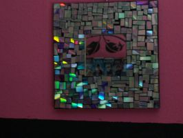 Mosaic CD Mirror by Dead-Promises