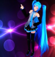 Do you think Miku is cool? :D by deoxys90