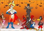 Halloween at the Fanboys by GreyOfPTA