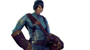 Female Scout... Pyro ? by Marcson124