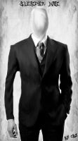 SlenderMan made in Photoshop CS6(without tutorial) by cbzgfx