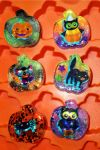 Halloween resin pieces by TashaAkaTachi