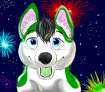 HAPPY NEW YEAR by 12wolfgir12