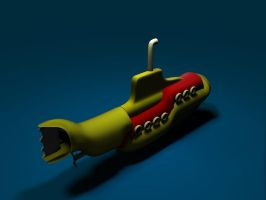 Back to 3D: Yellow Submarine by Noah0207