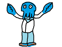 Blue Zoidberg by Zoidberg-Is-A-Meme