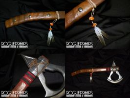 Assassin's Creed 3 Connor's Tomahawk by satansspawn