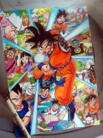 Dragon Ball Z Goku (FINISHED) by Tiag0Henrique