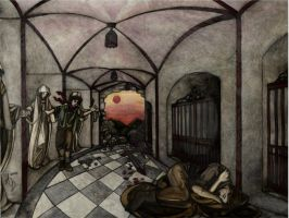 The Halls of Mourning by Alsdale