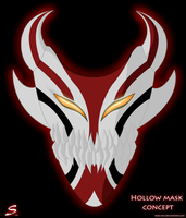 .: Hollow Mask Concept :. by Tsukineesan