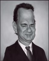 Tom Hanks by Sycra
