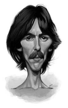 George Harrison by Mattessom