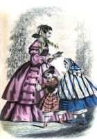 1858 Fashion Plate 4 by helene-louise-stock