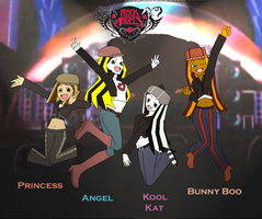 BA: Rock Angelz Band by LALtheUltimate