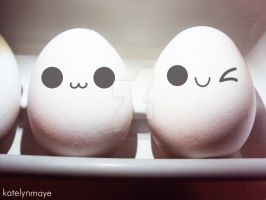 Cute Eggs by katelynmaye