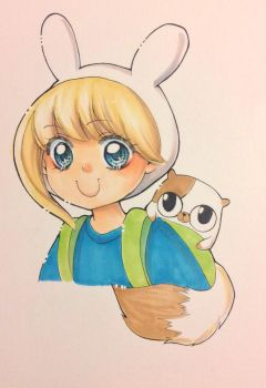 Fionna and Cake by marvi92
